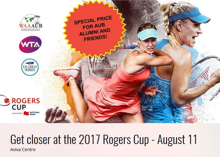 Toronto Chapter - Rogers Cup
